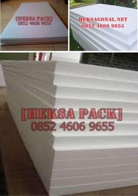 styrofoam lembaran dengan ukuran 1 x 2 m tebal 3 cm