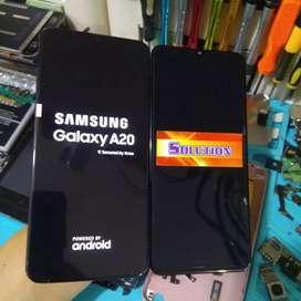 Lcd Touchscreen Samsung A20 / Samsung A205 + Pasang