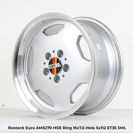 velg racing murah ROSTOCK EURO AM5270 HSR R16X75 H5X112 ET35 SML