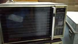 big Microwave and convection oven