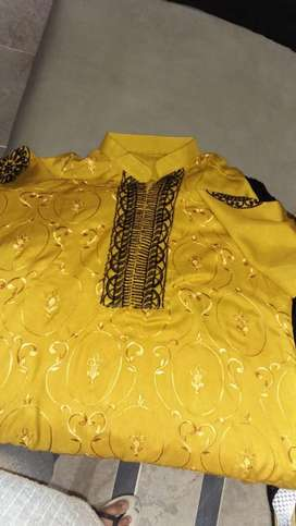 Khaadi kurti for ladies special offer yellow colour
