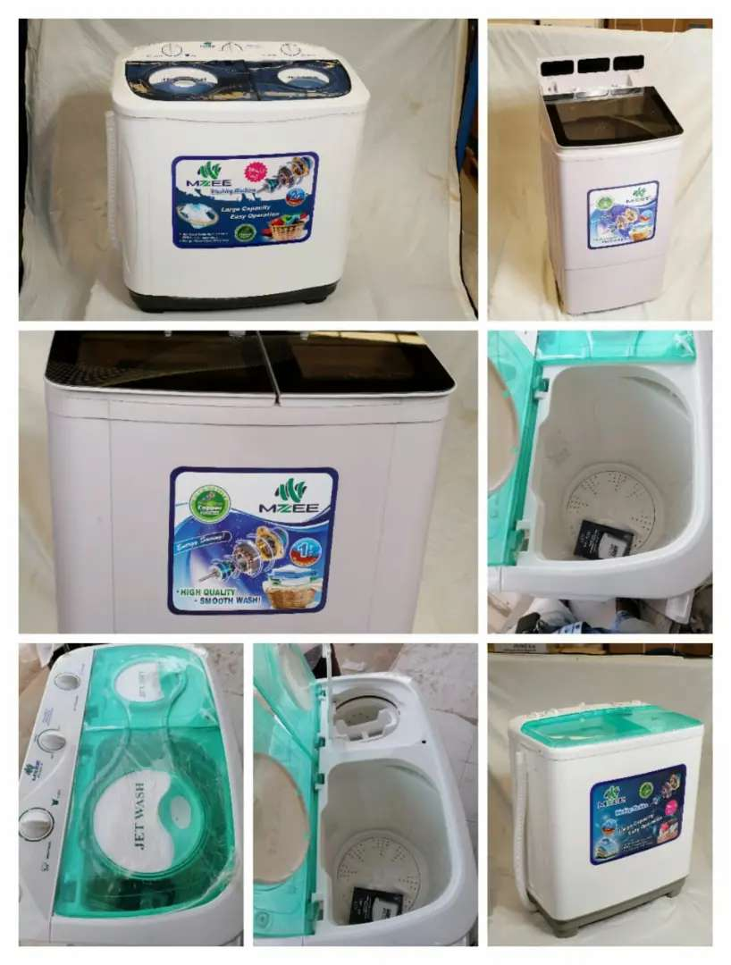 Mzee twin washing machine 2 year warrenty 12 kg Dilvery available 0