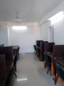 IT/BPO/KPO Setap Fully Furnished Office Space On Rent Prahladnagar