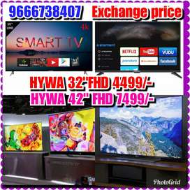 "Wonder Exchange offer Hywa 32""smart  ledtvs"