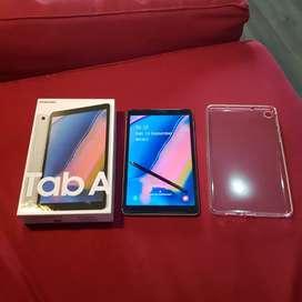 "Tablet Samsung Galaxy Tab A With S Pen 8"" Grey P205 Baru Pakai 1 Bulan"