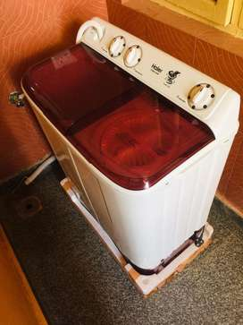 Its newly purchased washing machine and still not used