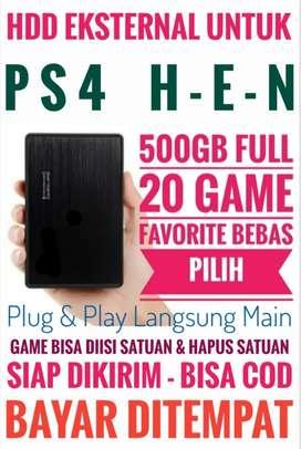 HDD 500GB Mantap Harganya Mrh FULL 20 Game Terlaris PS4 Bebas Pilih