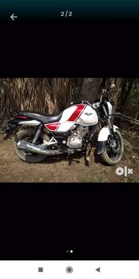 Bajaj Vikrant 15 Red and White