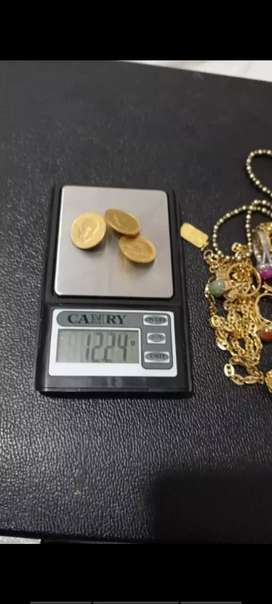 Menerima emas tanpa surat dan berlian