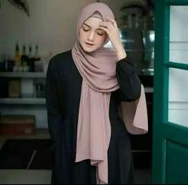 Jilbab pashmina (bukan jilbab instan)