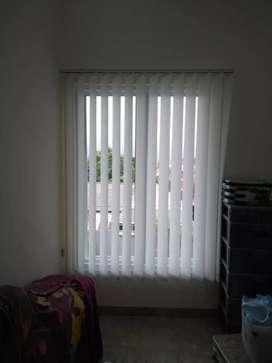 Gorden vetikal/horizontal blinds penghalau cahaya