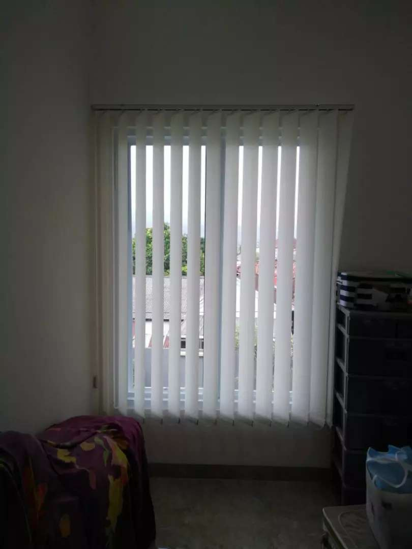 Gorden vetikal/horizontal blinds penghalau cahaya 0
