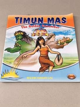 Buku cerita rakyat Timun Mas The Golden Cucumber