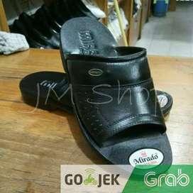 Sandal mirado 566 original pria kulit asli