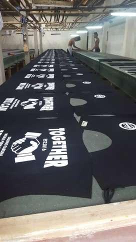 Pakaian Kaos Pilkada Kapasitas Besar. Harga mulai 10 ribuan