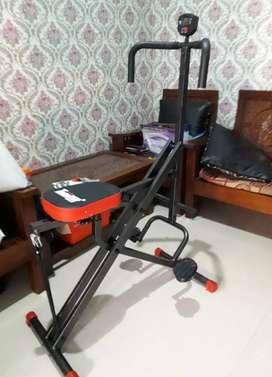 Total Power Rider Squat Monitor Display