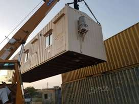 ISO Container site camp caravan container