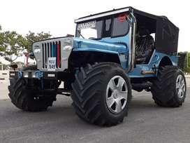 New Punjab jeep modified