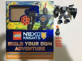 Lego Nexo Knights Build Your Own Adventure Book