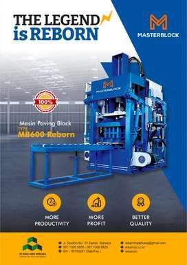 Mesin Paving Block MB 600 Reborn