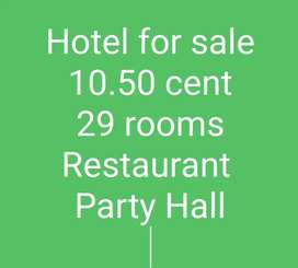 Hotel for sale at coimbatore(32 years goodwill)
