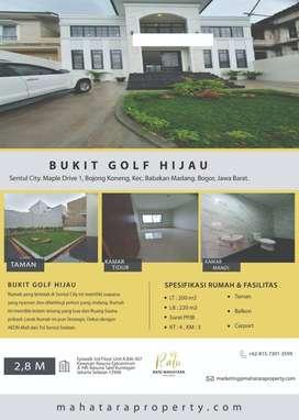 Jual Rumah Bukit Golf Hijau Maple Drive 1