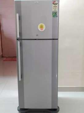 It's haier brand refrigerator of 250 lit.