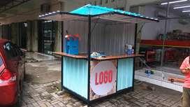 Siapa Cepat, dia dapat. Booth Semi Container / Rombong jualan Murah