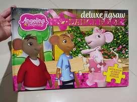 Angelina Ballerina Puzzle Book / Buku Anak / Puzzle / Buku Impor