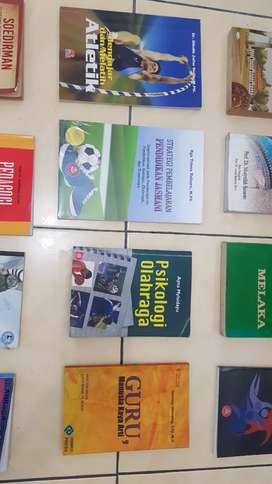 Obral Buku (Sejarah Islam, Psikologi, Statistik, Indonesia, Olahraga)