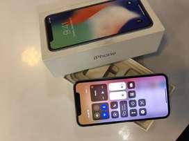 APPLE IPHONE X 64GB BRAND NEW CONDITION *