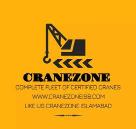 CRANES AVAILABLE
