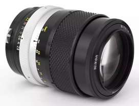 Nikon 135mm f/2.8 Manual Lens For Nikon/Canon/Sony E Mount Camera