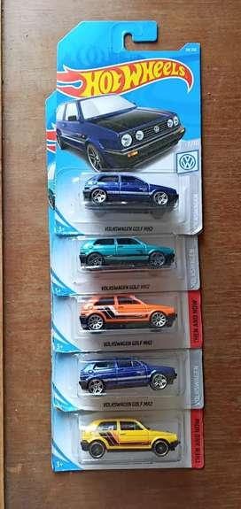 Hot wheels paketan volkswagen golf mk2