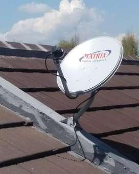 Antena Parabola Bebas Bulanan Sukoharjo