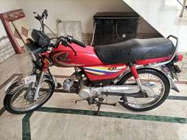 Honda CD 70 2014 In good condition