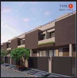 Aditiya bunglows best price 3bhk row house @ lambha