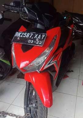 Vario 125 Merah Tahun 2017 Pajak Hidup Motor mulus