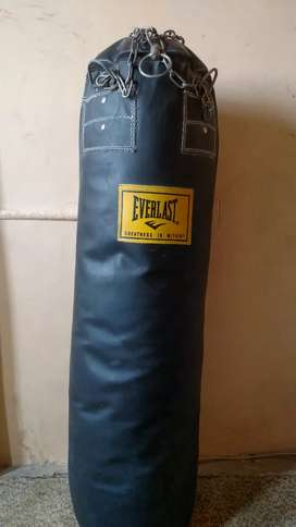 Boxing bag (leather)