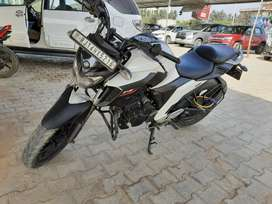 FZ25, well maintained with white color