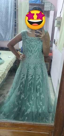 Reception party gown fron kay botique chennai