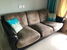 3 seater sofa bought from hometown - 4 years old