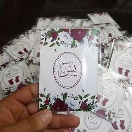 Buku yasin mini cocok untuk souvenir pernikahan