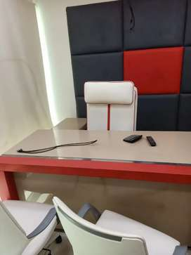 VIP FULL FURNISHED OFFICE FOR RENT 24/7 TIMING WITH LIFT CHAMBER AC