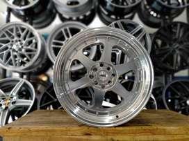 jual velg murah bintaro model RUMOI JD8659 HSR R17X7585 pcd8X100-114,3