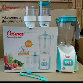 toko permata blender cosmos gelas plastik 3 in 1