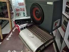 Paket brnded Pioneer & soundstream cukup 2,6 udah + instalasi