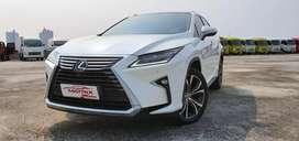 LEXUS RX200 Luxury 2016 NIK16 ATPM White on Mocca Km 40rb record