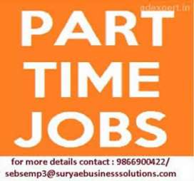 Part time Work - extra income opportunity for all