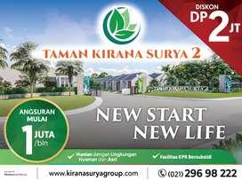 Rumah Subsidi Diskon DP Rp 2jt